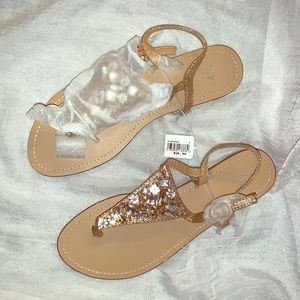 Brand New - Bridal (or just fancy) sandals.